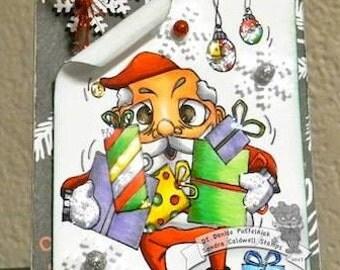 1978 Santa Claus is Here Digi Stamp