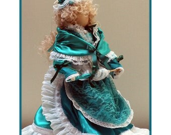Joy Victorian Faceless Lady Art Doll E-Pattern