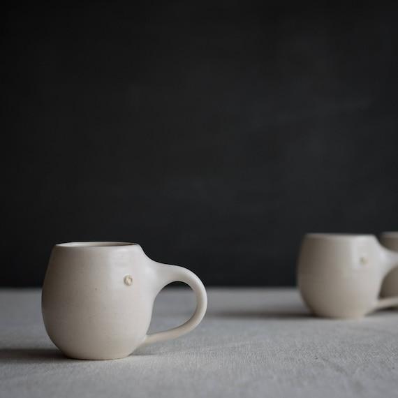Espresso Mug in Smooth White