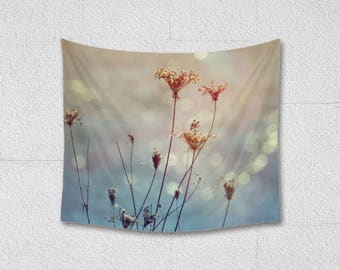 Queen Anne's Lace Wall Tapestry Photographic Wall Hanging