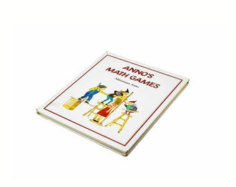 First Edition 1994 ANNO's MATH GAMES  by Mitsumasa Anno Hardcover  安野 光雅