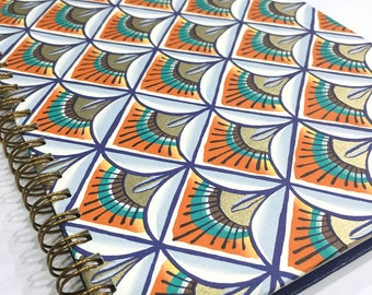Ruled Journal - Mediterranean Sunbursts