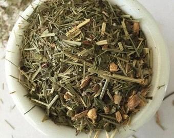 Organic Lemon Ginger Mint tea