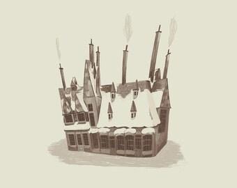 Hogsmeade - Print