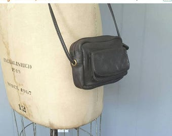 SALE Tennie Tiny Coin Belt Bag / brown leather change small purse