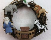 Noah and the Ark Christmas Ornament 101