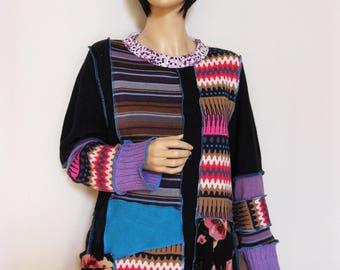 1X Crazy Sweater Tunic