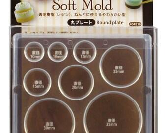 Padico resin round mold/Padico resin circle mold/Round flexible mold/Round resin mold/Round DIY jewelry mold/Padico jewelry mold/resin mold