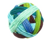 Zingy 75/25 Self-Striping Sock Yarn OOAK