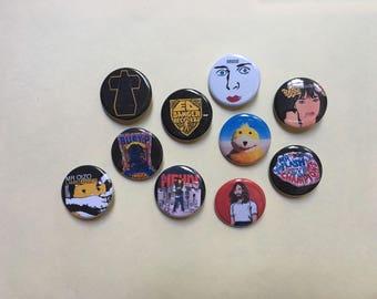 Ed Banger Records Pin Set Pinback Button Pin Badge x10