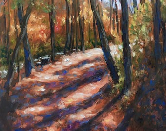 "Deep Creek 5x7"" Original Oil Painting on Panel"