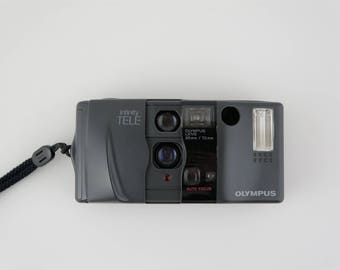 Olympus Infinity TELE 35mm Compact Camera - Made in Japan