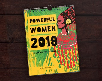 Calendar of Powerful Women for 2018