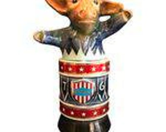 Jim Beam Decanter 1976 Democratic Convention Donkey