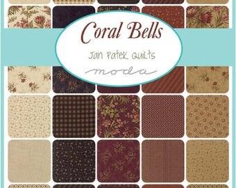 Coral Bells Fat Quarter Bundle by Jan Patek for Moda