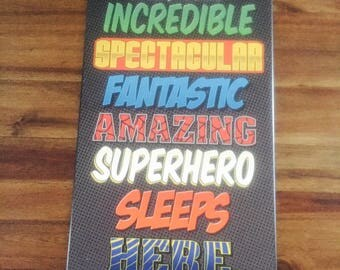 Superhero Wall Art