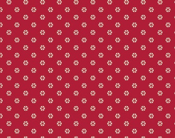 INDIE FOLK  Art Gallery Fabrics, Pat Bravo, Whirl Rouge, Fabric By the Yard, Boho, Baby Quilt, Cotton Fabric, Boho Nursery, Red Fabric
