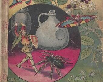 Antique Tom Thumb Little Folks Series McLoughlin Bros Soft Cover Children's Book, 1888