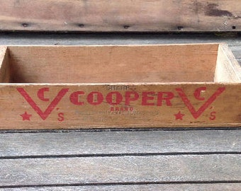 Vintage Cooper Cheese Box
