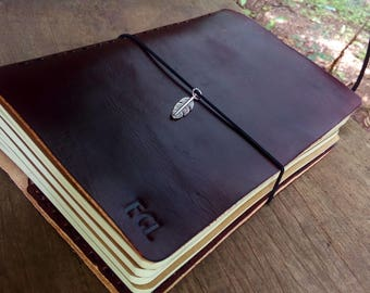 A5 Travelers Notebook / Midori / Journal / Leather / Refill / Trending Now...