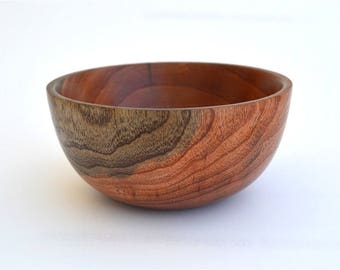 Wooden Bowl, Tamarix Wood, Handmade