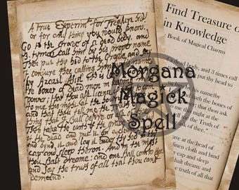 To Find TREASURE or GAIN KNOWLEDGE, Ancient Spell Download, Occult,Alchemy, Mythological,Digital Download, Occult Book of Shadows Page