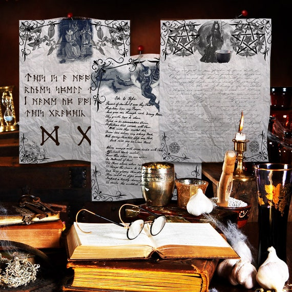 Witchcraft  3 Book of Shadows  Pages