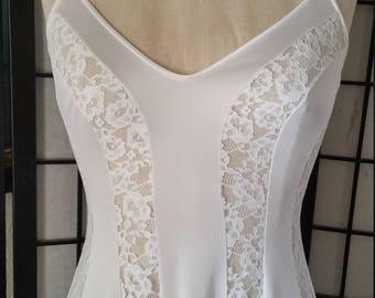 Bohemian Lace Night Gown Dress
