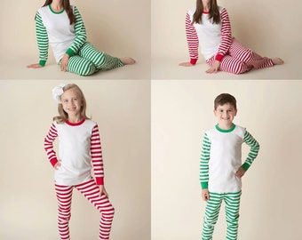 Personalized christmas pajamas | Etsy