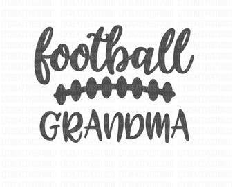 Football Grandma SVG, Dxf, Png, Eps, Football SVG, Football Cutting Files, Svg Cutting Files, Cricut Files, Silhouette Files