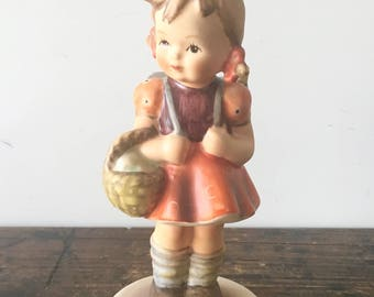 1982 Hummel Goebel Schoolgirl Figurine TMK6, West Germany