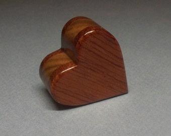Miniature Heart Urn,1/3 c.i. Small Wooden Box, Small Wooden Heart Urn, Small Urn, Made in the USA