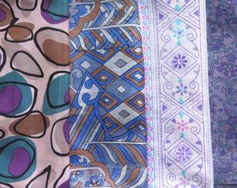 Fat Quarters, Silk Fabric, Sari Silk, FQ 116