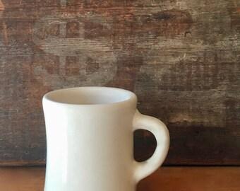 Victor Coffee Mug, Durable Heavy Mug, Diner Mug, Navy Mug, Impressed Bottom, Victor USA, New York ca. 1950