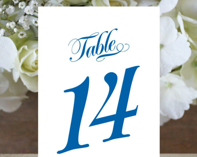 Reserved. Printable Table Numbers 1 to 40, Rustic Table Number, Script Table Number, Downloadable, Print it yourself.