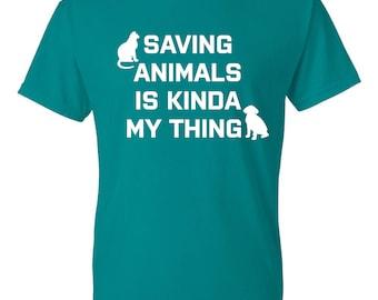 Animal Rescue Shirt, Dog Rescue Shirt, Cat Rescue Shirt, Animal Rescue TShirt, Animal Rescue Gift, Dog Rescue Gift, Cat Rescue Gift, Tshirt