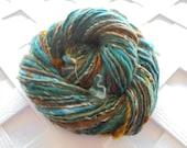 FANGORN FOREST Thick and Thin Handspun, Worsted-Weight Handspun, Merino Yarn, Soft Artisan Yarn, Art Yarn, Knitting Yarn, Weaving Yarn, LOTR