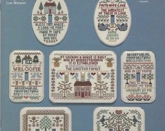 """Clearance - """"Stitches and Switches Mini Samplers"""" Counted Cross Stitch Chart by Fond Memories, Inc."""