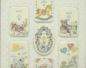 """Clearance - """"Stitches and Switches Soft 'n Cuddly"""" Counted Cross Stitch Chart by Fond Memories, Inc."""
