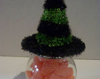 witch hat candy jars,candy not included
