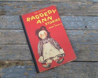 The Original Raggedy Ann Stories, 1918, Johnny Gruelle, Children's Book, Color Illustrations