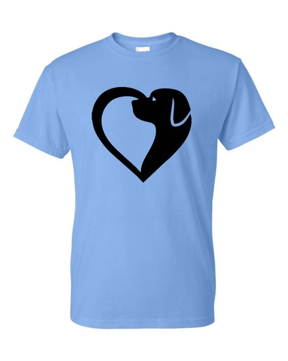 Dog with heart T-SHIRT, Funny tee shirt, Party shirt, Sarcastic shirt Birthday gift, shirt with saying ,graphic tee