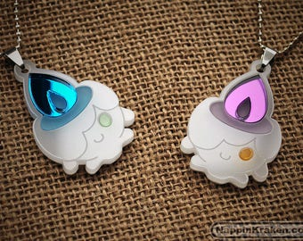 Litwick Pokemon XY Acrylic Necklace Pendant