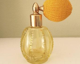 Vintage Perfume  Atomizer Bottle Vintage Perfume Bottle
