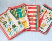 Vintage Fondue Placemats- Set of 4