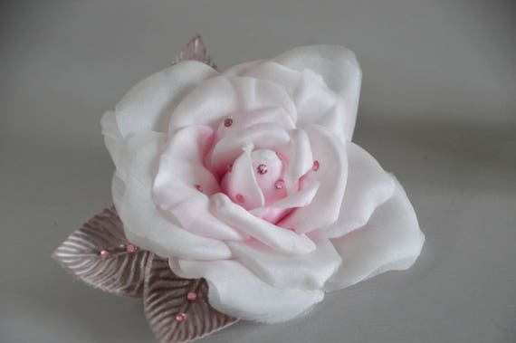 Blush Rose Hair Clip