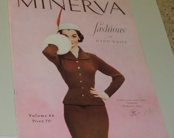 1952 Minerva Fashions in Hand Knits