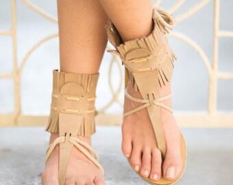 boho womens sandals,fringe sandals,summer flat sandals,greek sandals women,trendy sandals,flat sandals,t strap sandals,decorated sandals