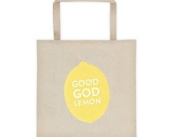 "30 Rock Tote ""Good God Lemon"" Tina Fey Liz Lemon TV Show Pop-Culture Tote bag"