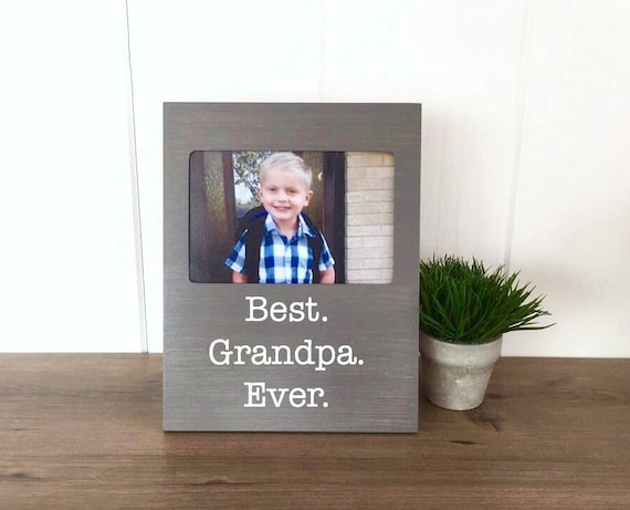Father\'s Day Photo Frame for Grandpa or Dad - Keepmake